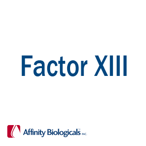 Factor XIII Products